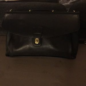 Coach Refurbished Leather Briefcase